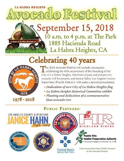 LHH 40th Anniversary Celebration Flyer